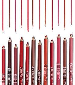 MN MeNow True Lips Set of 12 Creamy Lip Liner Pencils
