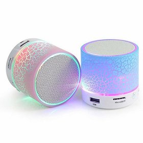 Trendster 2.1 Channels Bluetooth Speaker USB, FM and Aux Connectivity With Memory Card Slot (Multicolor, set of 1)