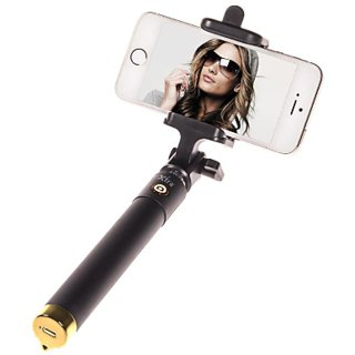 Trendster Selfie Stick Mini With Aux Cable For iPhone Android Windows Phone Multicolor Selfi Stick Trendster