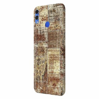 CoDecor Premium Designer Compact Hard Matte [Plastic] [Slim Fit] [Waterproof] Back Case Cover For Honor 8X [PRT1254HON8X]