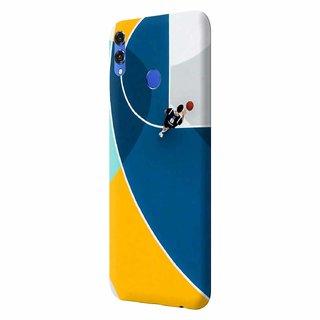 CoDecor Premium Designer Compact Hard Matte [Plastic] [Slim Fit] [Waterproof] Back Case Cover For Honor 8X [SPT1020HON8X]