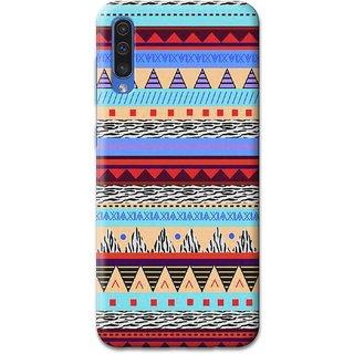 CoDecor Premium Designer Compact Hard Matte [Plastic] [Slim Fit] [Waterproof] Back Case Cover For Samsung Galaxy A50 [PTN1065SGA50]
