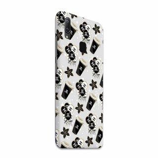 CoDecor Premium Designer Compact Hard Matte [Plastic] [Slim Fit] [Waterproof] Back Case Cover For Vivo Y95 [BLG1010VIY95]