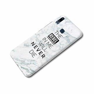 CoDecor Premium Designer Compact Hard Matte [Plastic] [Slim Fit] [Waterproof] Back Case Cover For Vivo V11 [TEX1005VIV11]