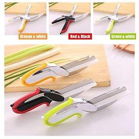 Clever Cutter 6-in-1 Knife  Cutting Board Scissors