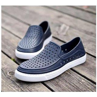 Clymb Tiger Blue Slip On Floaters For Men