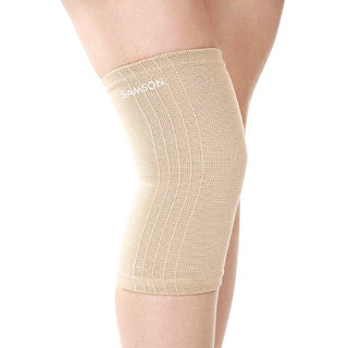 Samson Knee cap (Deluxe)(Pair)(Large) for Knee Support