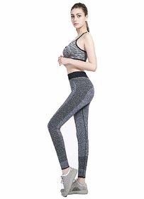 WONDERFUL FITTED Women's Polyester Yoga Pants/Legging Best Gym Track Pant Cum Sports Leggings Girls Dri Fit