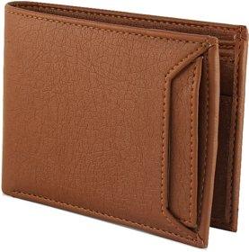 AmazeExpress - New Geniune Tan Wallet For Men - Best gift for Men