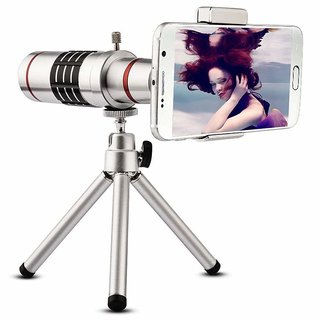 18x Zoom Telephoto Phone Camera Lens for Mobile No Black Corner Universal Optical Zoom for All Phones