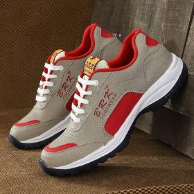 BRK Cream red Running sports shoe for Men