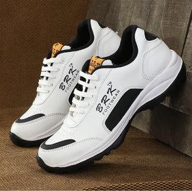 BRK Men White Sports Shoes