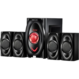 OSHAAN CMPL-20 4.1 BT Multimedia Home Theater Speaker with Bluetooth USB FM AUX Connectivity