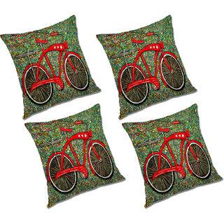 Remarkable Radanya Printed Polyester Cushion Cover Set Of 4 Multicolor 20X20 Inches Inzonedesignstudio Interior Chair Design Inzonedesignstudiocom