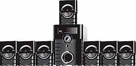I Kall IK-6666 7.1 Channels  Bluetooth Home Theatre /Speaker System (Black, Mono Channel) With 1 Year Warranty
