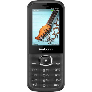 KARBONN K24 MUSIC DUAL SIM MOBILE WITH 2.4 INCH DISPLAY/1800 mAh BATTERY/4 LED TORCH/CAMERA/FM AND MOBILE TRACKOR