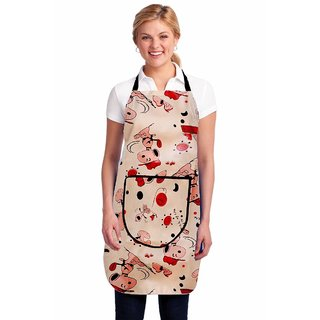 G-Trading Hub Waterproof Kitchen Apron With One Front Pocket