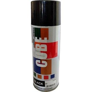 Multimood CUBE Black Aerosol Spray Paint Multipurpose Use