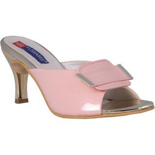 MSC Synthetic Pink stylish Fancy Heels for women