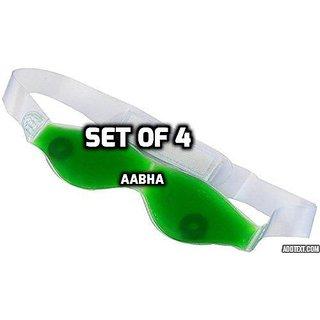 Aloe Vera Ice Cool Gel Eye Mask Eye Gel, Magnetic Aloe Vera Based Summer Eye Care Cool Mask (PACK OF 4)