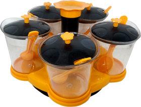 5 Pcs multipurpose revolving container set