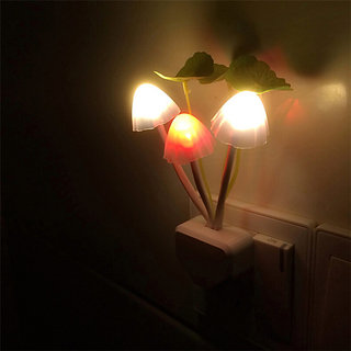 Romantic Creative Mushroom Shaped LED Night Lamp