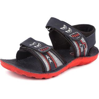 Genial Boys Velcro Sports Sandals(FASHION-2 BLU)