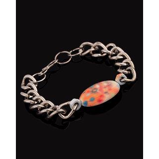 Voylla Shivaji Portrait Attractive Link Bracelet
