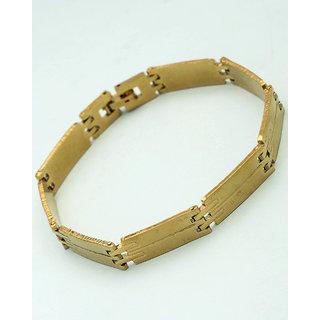 Dare by Voylla Yellow Gold Men's Bracelet