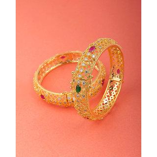 Voylla Regal Bracelet-Style Gold Kadas