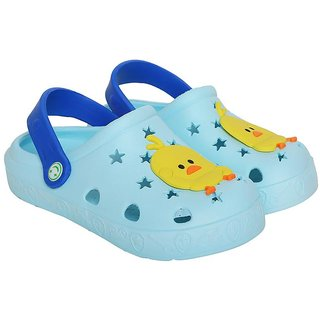Shishu Baby Tweety Rubber Clogs(Sky Blue)