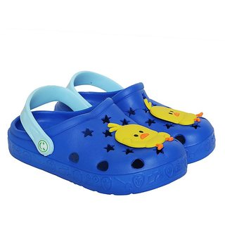 Shishu Baby Tweety Rubber Clogs(Navy Blue)