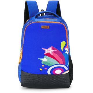 2STRAP Unisex 2 Star Blue Laptop Backpack Bag