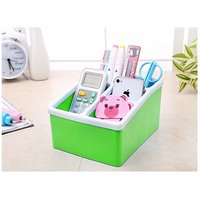 House of Quirk Plastic Remote Control Organiser Caddy AC Fire Stick Box Business Card Pen Pencil Mobile Phone Holder