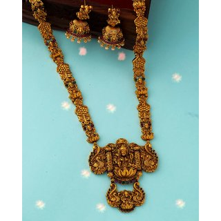 Voylla Southern Bling Antique Inspired Necklace Set