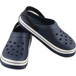 Gymsym Mens Casual krocs(Crocs-Blue)