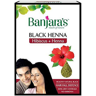 Banjaras Black Henna Hibiscus And Henna 50g