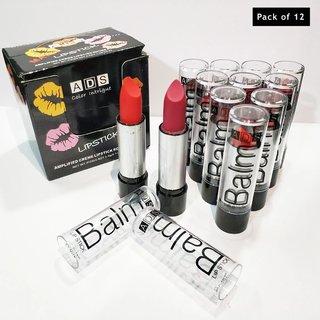 ads combo balm matte lipstick set of 12