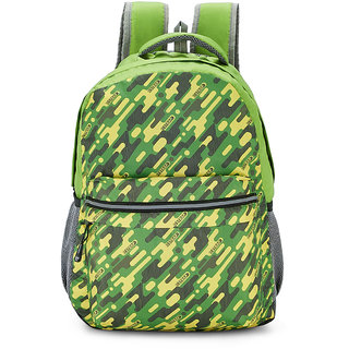 2STRAP Unisex Commando Green Laptop Backpack Bag