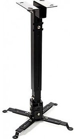 Sii 4 Feet black Ceiling mount square Projector Stand  (Maximum Load Capacity 20 kg)