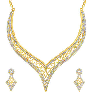 Sukkhi Designer Gold Plated Necklace Set For Women