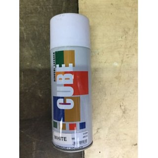 Multimood CUBE White Aerosol Spray Paint Multipurpose Use
