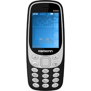 KARBONN K324N DUAL SIM MOBILE WITH 1750 mAh BATTERY/CAMERA/FM/TORCH/AUTO CALL RECORDER/MULTI LANGUAGE AND MOBILE TRACKER