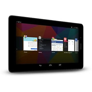 Micromax Canvas Tab P70221 16  GB 7 inch with Wi Fi+3G Tablet  Black    BOX OPEN