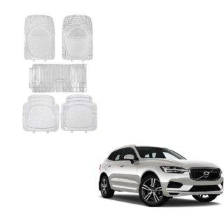 Auto Addict Car Rubber PVC Car Mat 6205 Foot Mats Clear Color Set of 5 pcs For Volvo XC60