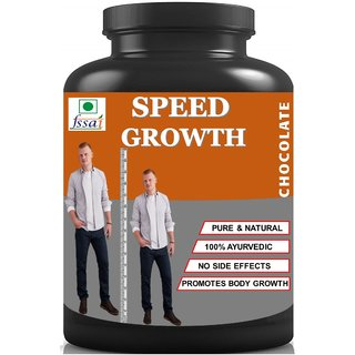 Hindustan Ayurveda Speed Growth Chocolate Flavor Height Increase Height Growth (100 gm Powder) Pack Of 1