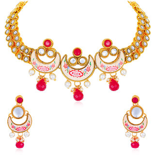 Sukkhi Excellent Gold Plated Necklace for Women