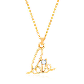 Sukkhi Astonish Gold Plated Pendant for Women