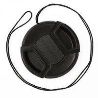 Cam Cart Lens Cap 55 mm Black Lens Cap for Nikon, Canon, Sony, Olympus