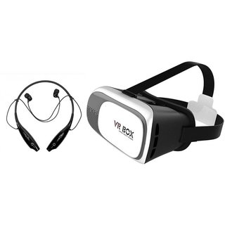 HBS 730 bluetooth headset and VR box Neckband bluetooth headset | Stereo Music Earphone Bluetooth Headset with Mic